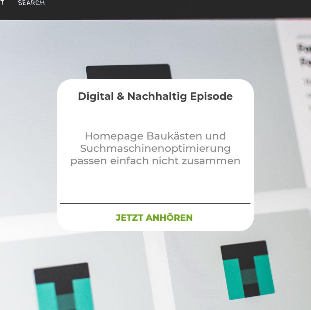 Homepage Baukästen und SEO passen einfach nicht zusammen